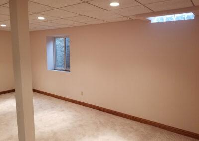 Drywall Basement